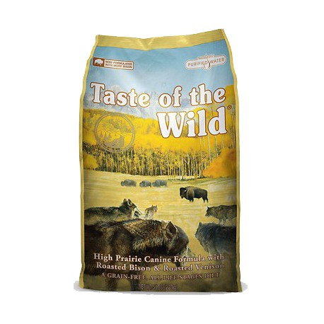 Taste of the Wild High Prairie c/ Bisonte e Veado