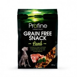 Snack Profine Grain Free Borrego 200 gr.