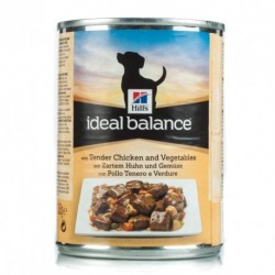 Hills Ideal Balance Adulto Frango e Vegetais (Lata)
