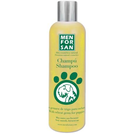 Menforsan Shampoo muito suave para cães com Gérmen Trigo