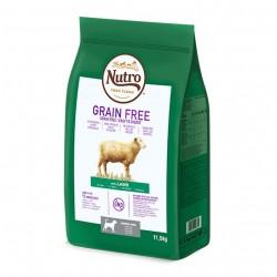 Nutro Grain Free Senior com Borrego para cães Séniores