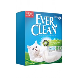 Areia Auto Aglomerante Ever Clean Extra Strong Scented