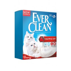 Areia Auto Aglomerante Ever Clean Multiple Cat
