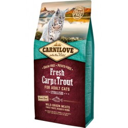 Carnilove Adult Cat Sterilised Fresh Carp & Trout