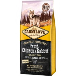 Carnilove Fresh Chicken & Rabbit Adult Dog
