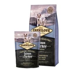 Carnilove Salmon & Turkey Puppy