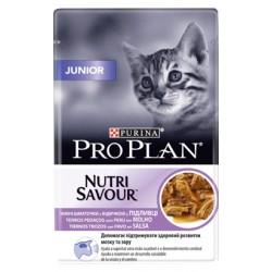 Pro Plan Cat Junior NutriSavour with Turkey