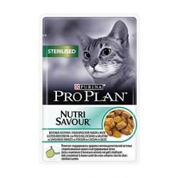 Pro Plan Cat Sterilised NutriSavour with Ocean Fish 85 gr. (Saqueta)
