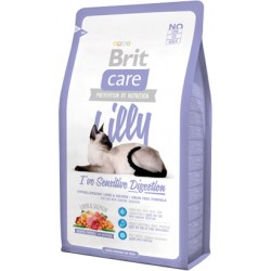 Brit Care Cat Lilly Sensitive Digestion Borrego e Salmão